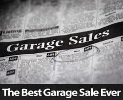 How To Have The Best Garage Sale Ever