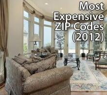 Most expensive ZIP codes in the U.S.